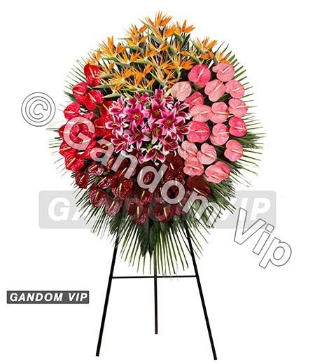 جعبه گل مدل آریا