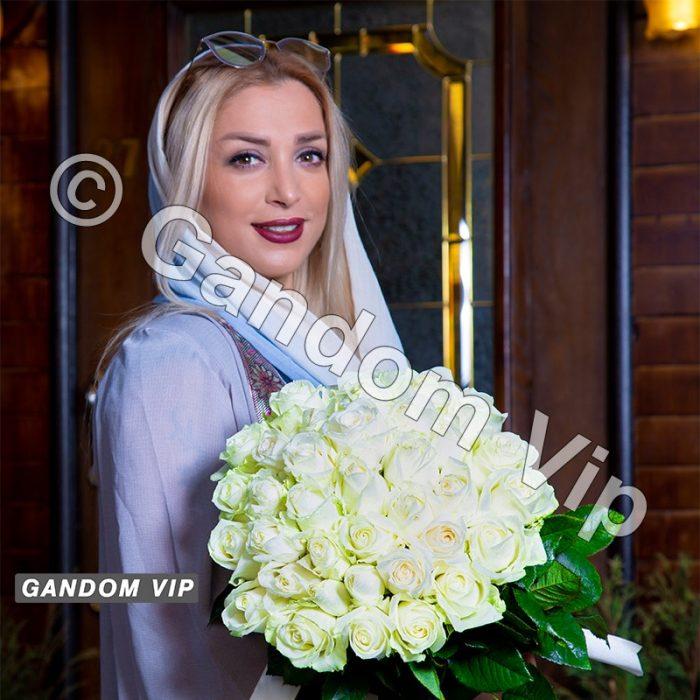 دسته گل رز سفید | خرید دسته گل