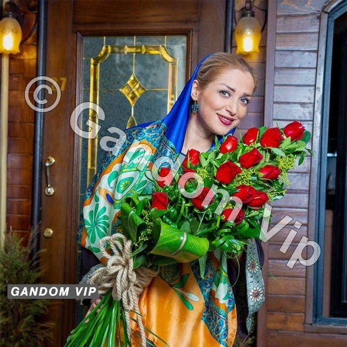 دسته گل اروپایی کد 103 | خرید دسته گل