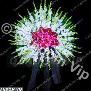 تاج گل برای مراسم چهلم