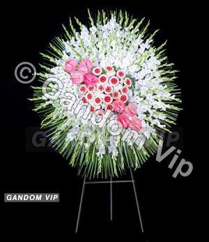تاج گل ترحیم | تاج گل ترحیم یک طبقه کد 927