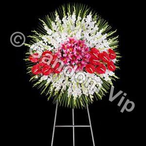 تاج گل ترحیم | تاج گل تسلیت کد 929
