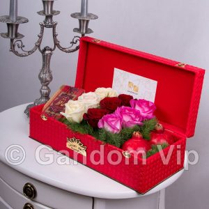 جعبه گل یلدا