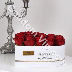 جعبه گل قلب