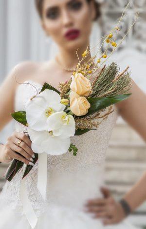 دسته گل عروس مدل اروپایی