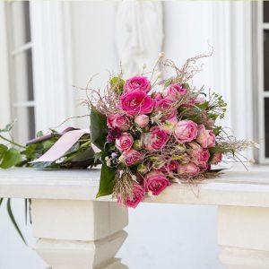دسته گل رز عروس جدید کد 1009