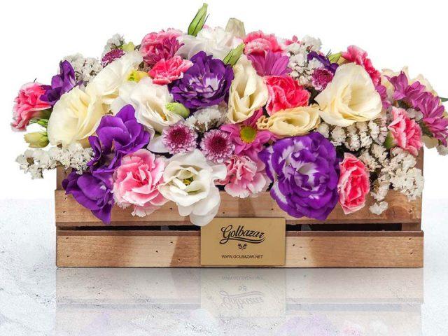 باکس گل بهاری شما را به وجد می آورد