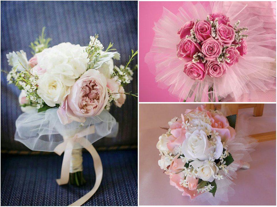 دسته گل حلقه ای عروس