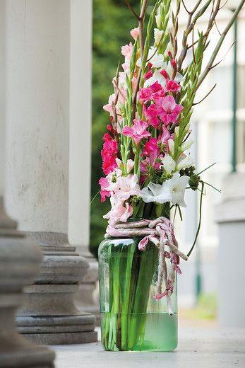 چیدن گل گلایل