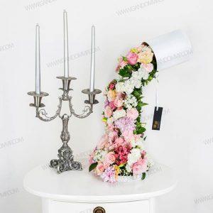 باکس گل آبشاری گل کد 235