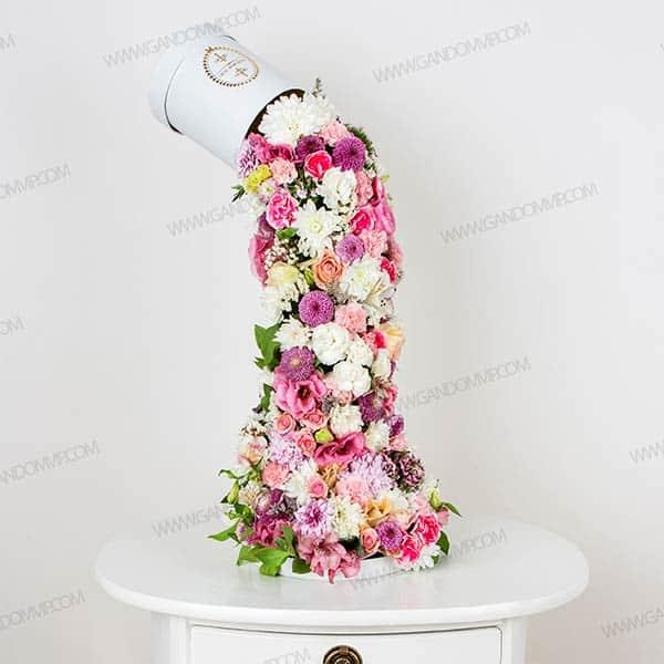 باکس گل آبشاری