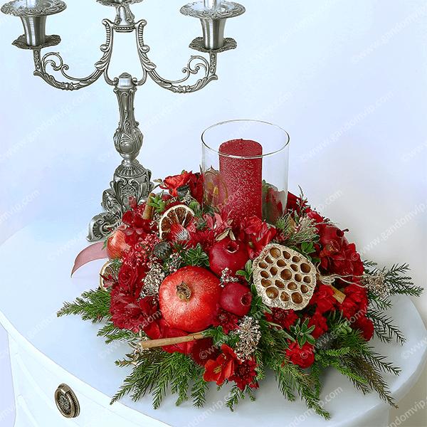 باکس گل و میوه یلدا