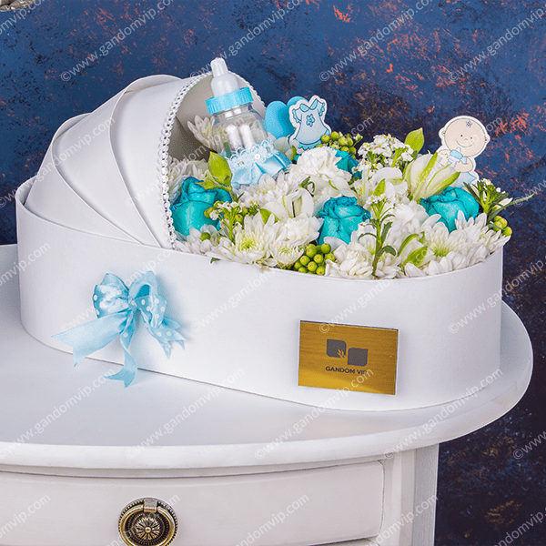 باکس گل نوزاد