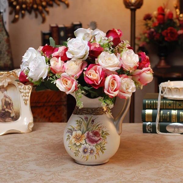 نگهداری از گل رز در تابستان